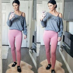 Brunette The Label Sweatshirt Grey Sz S M